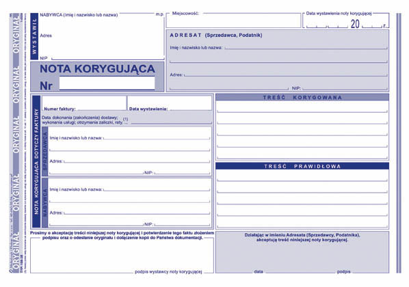 Nota Korygująca Vat 108 3e Inne Agena24